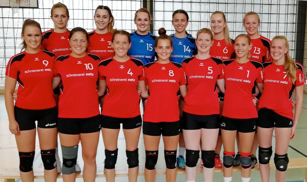 Mannschaftsfoto der 1. Damen Saison 2019/2020