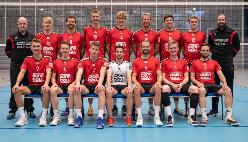 Mannschaftsfoto der 1. Herren in der Saison 2019/2020