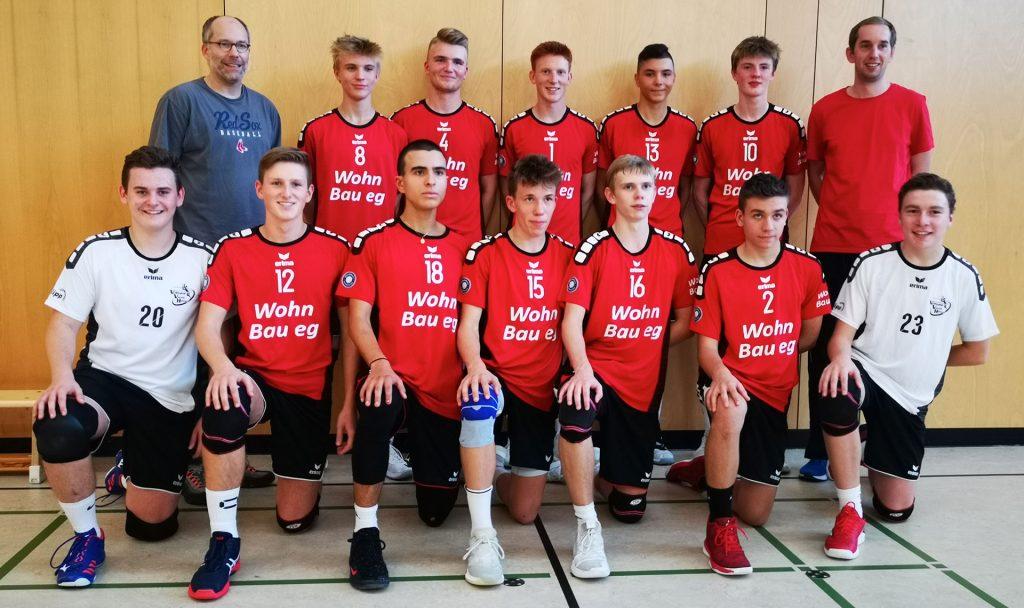 Mannschaftsfoto der U18 männlich Saison 2019/2020