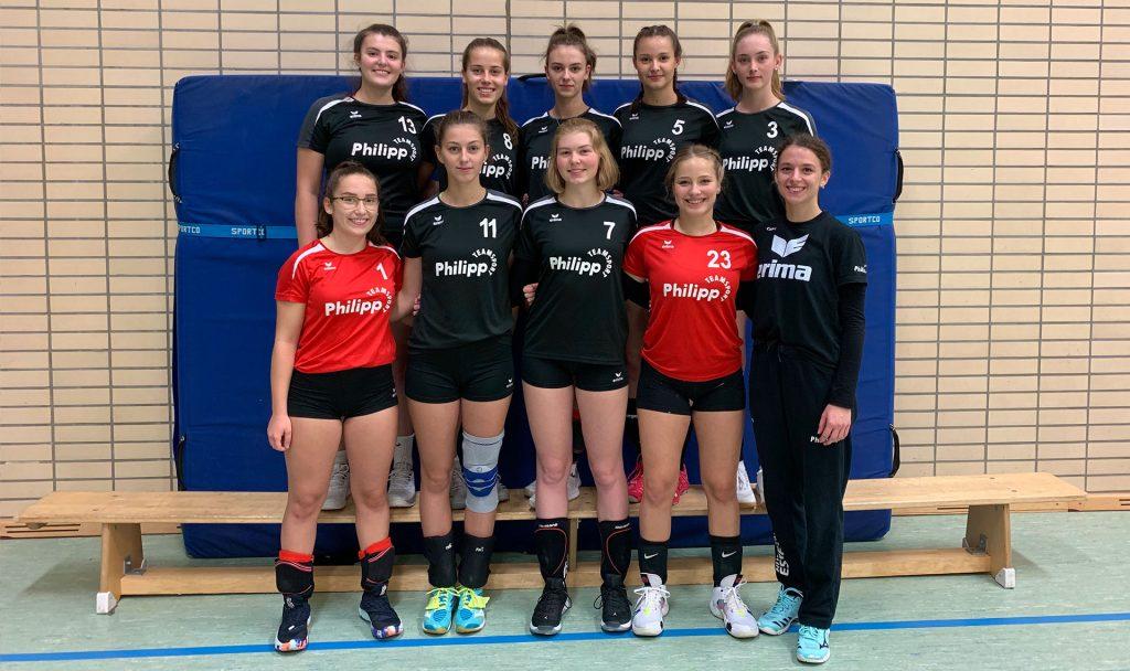 Mannschaftsfoto der U20 weiblich Saison 2019/2020