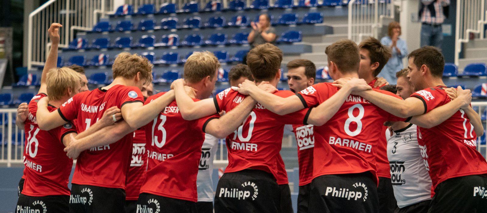 Foto: 1. Herren freut sich nach ersten Saisonsieg gegen USC Braunschweig