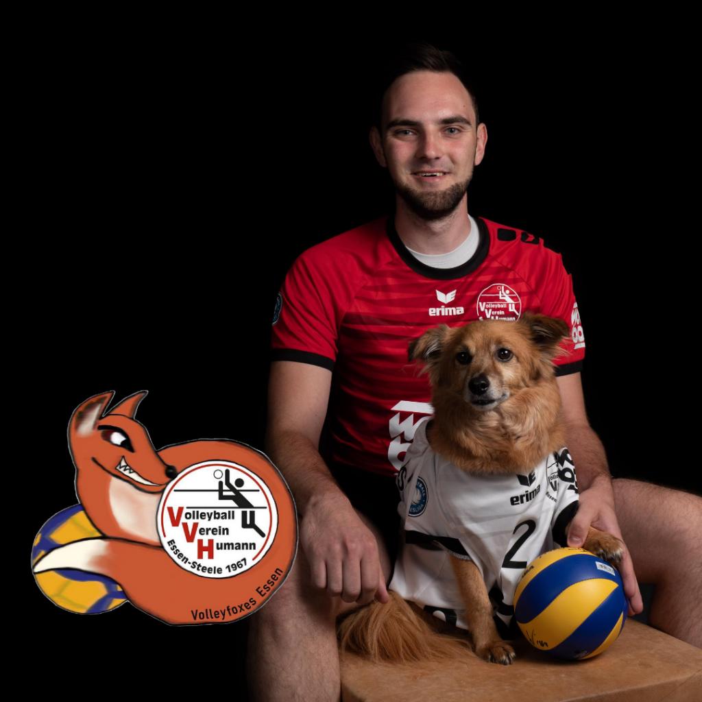 Foto: #5 Thomas Woijtczak mit Volleyfoxes Humann Essen