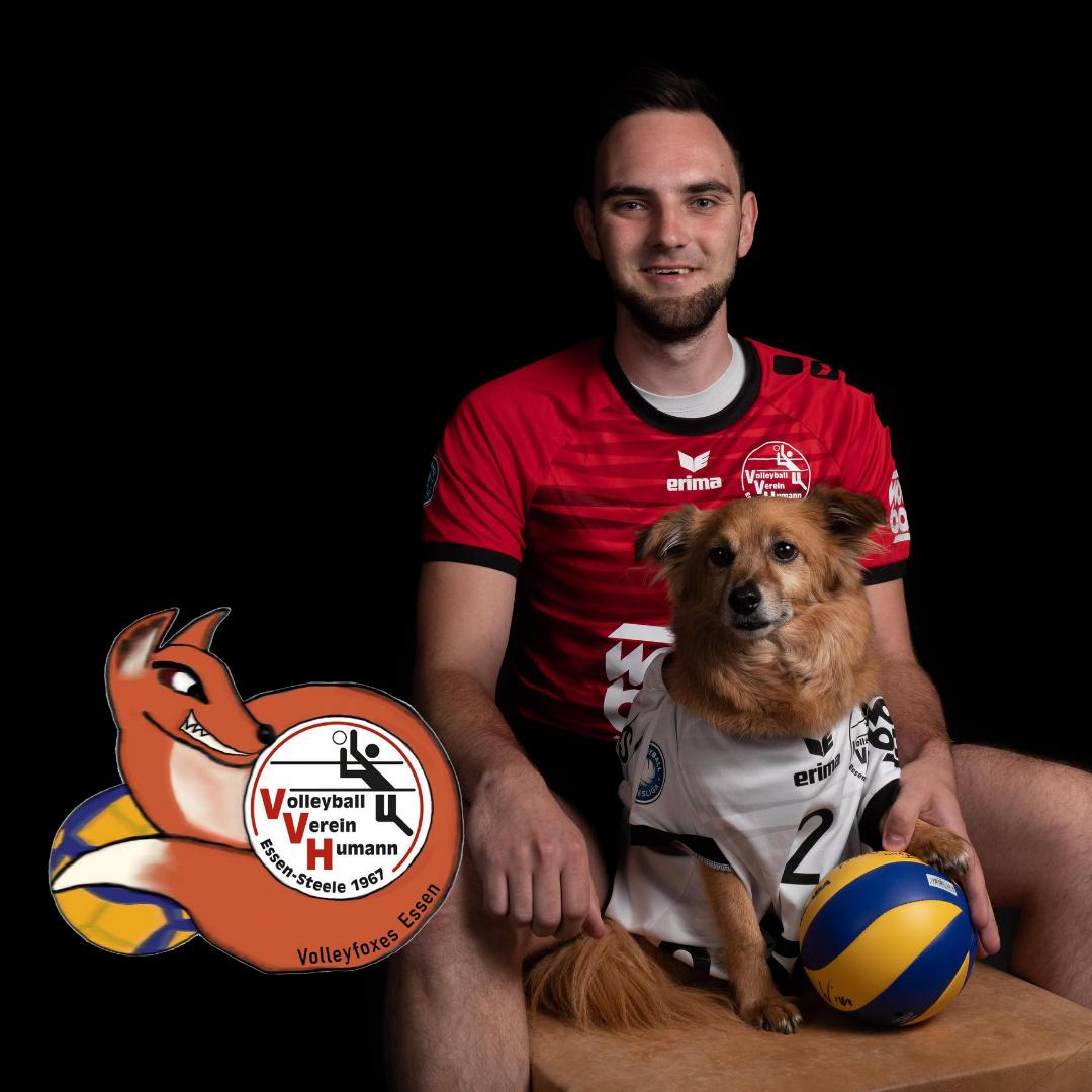 #5 Thomas Woijtczak mit Volleyfoxes Humann Essen