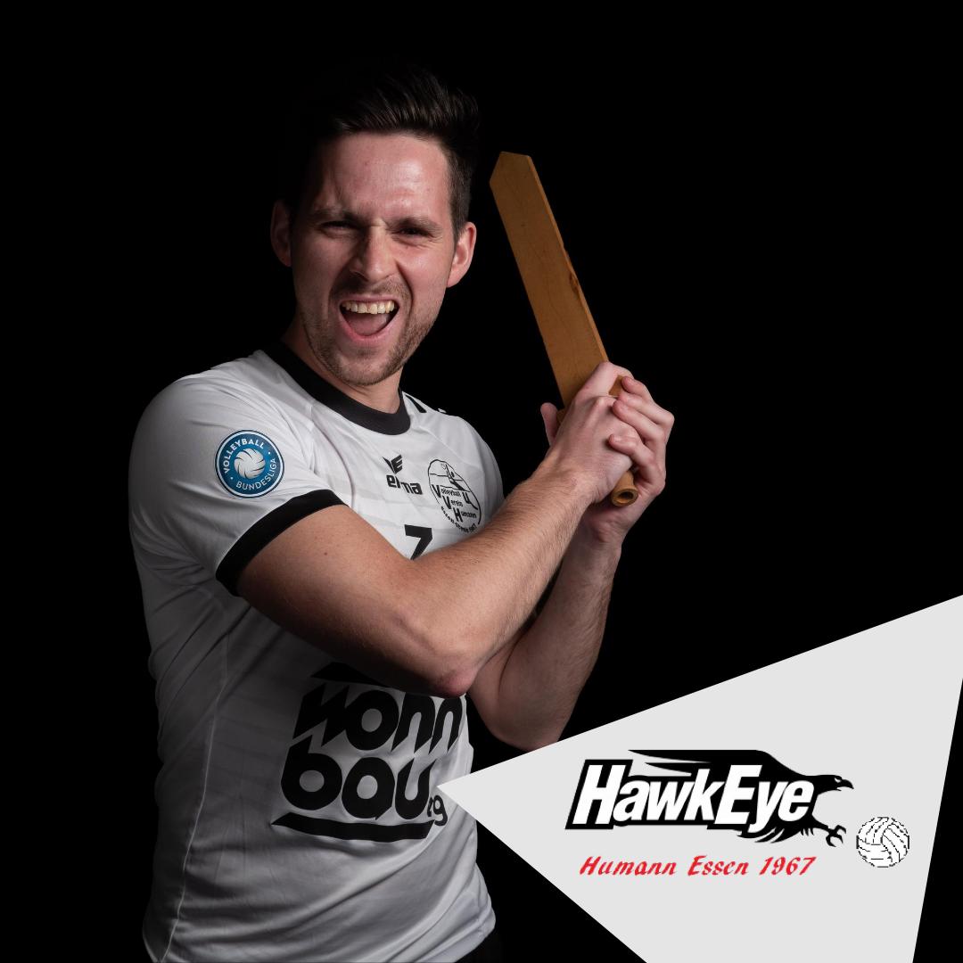 #6 Matthäus Gawryluk mit Humann Hawk Eyes