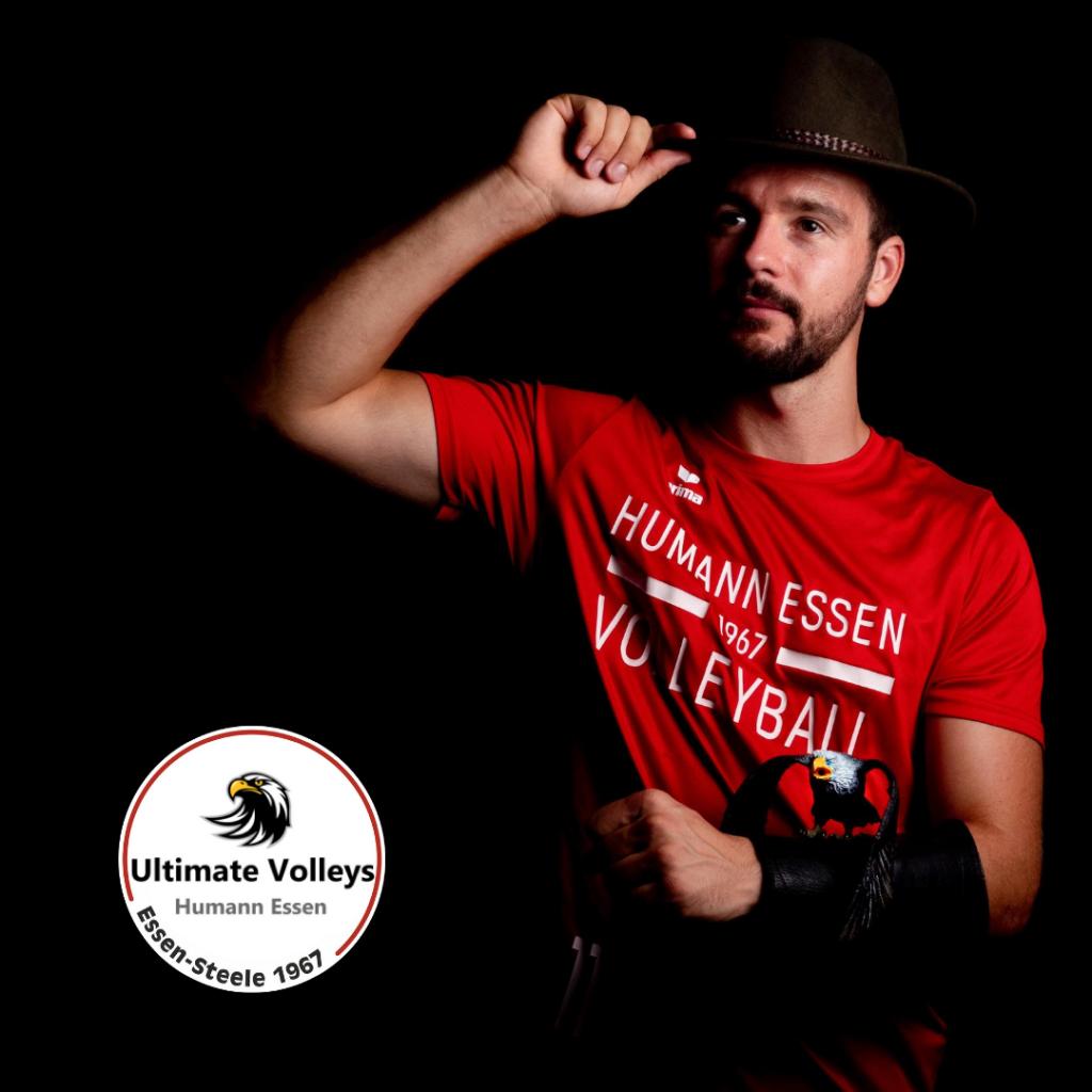 Foto: #8 Tim Mücke mit Ultimate Volleys Humann Essen