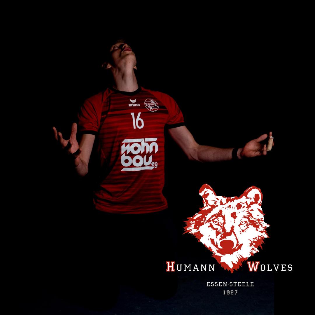 #9 Jan Holthausen mit Humann Essen Wolves