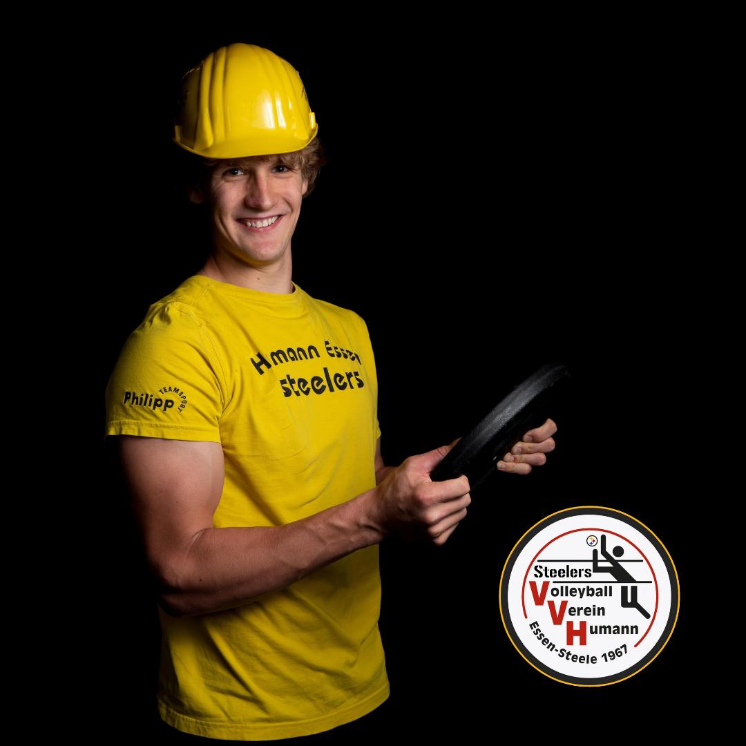 #13 Constantin Jux mit Humann Essen Steelers
