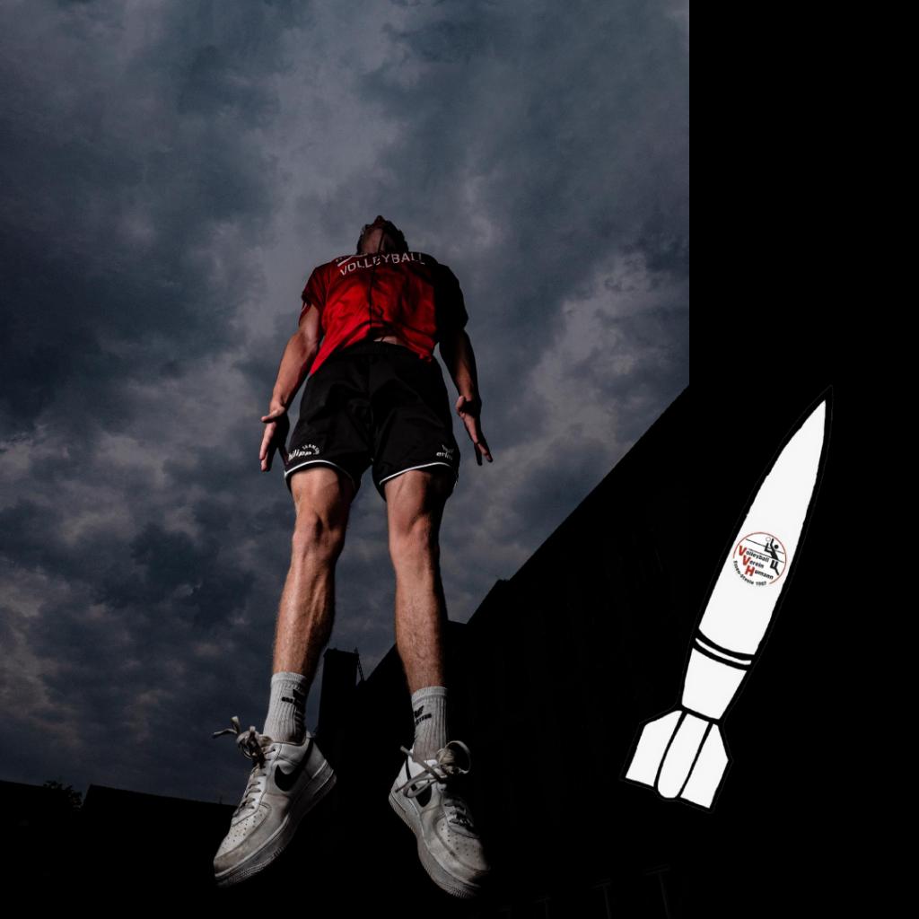 Foto: #20 Tobias Schön mit VV Humann Rockets