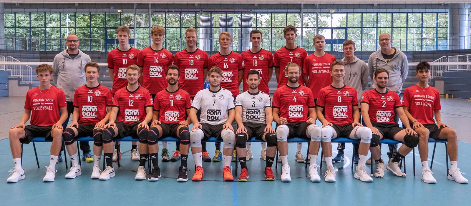 Teamfoto der 1. Herren Saison 2020/2021