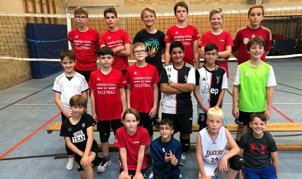 Teamfoto der U13 männlich Saison 2020/2021