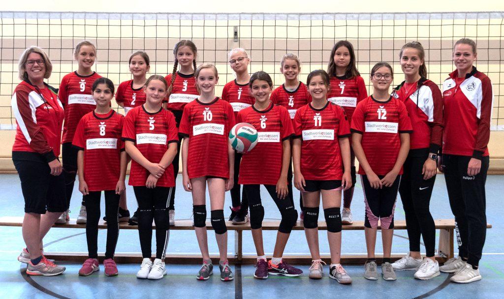 Teamfoto der U13 weiblich Saison 2020/2021