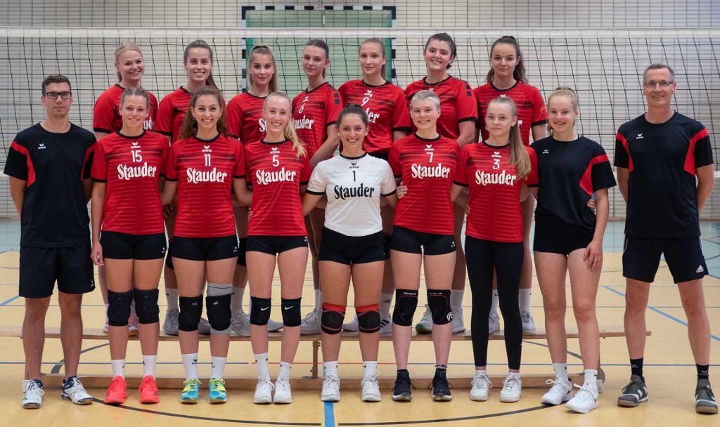 Teamfoto der 2. Damen Saison 2020/2021