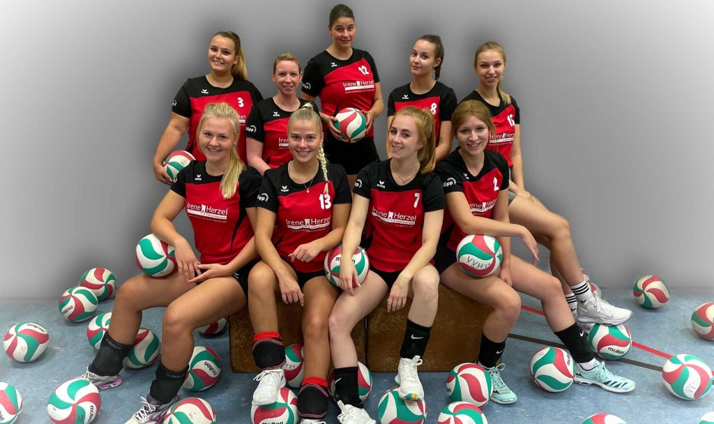 Teamfoto der 3. Damen Saison 2020/2021
