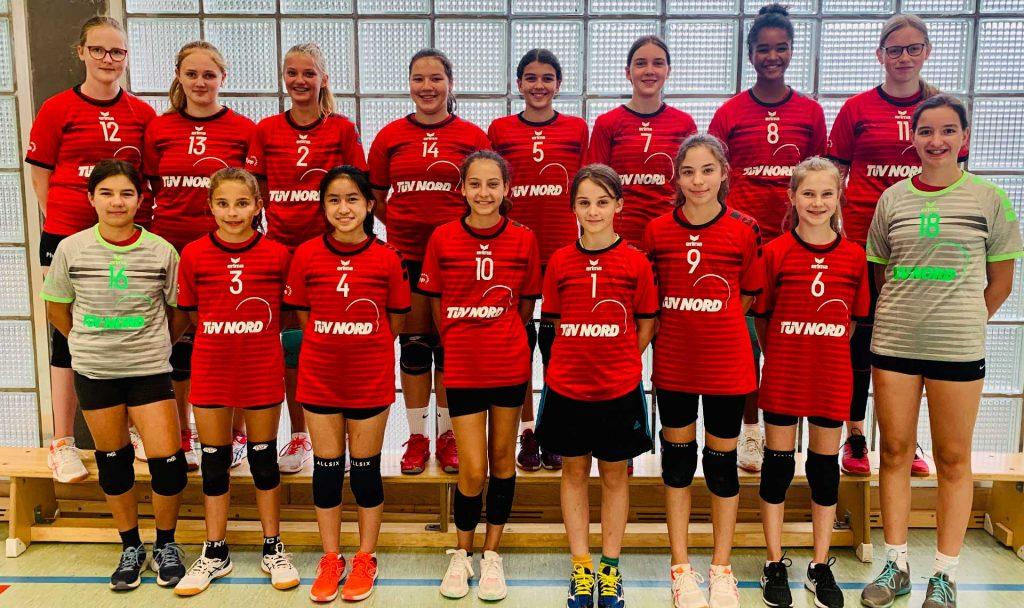 Teamfoto der 5. Damen Saison 2020/2021