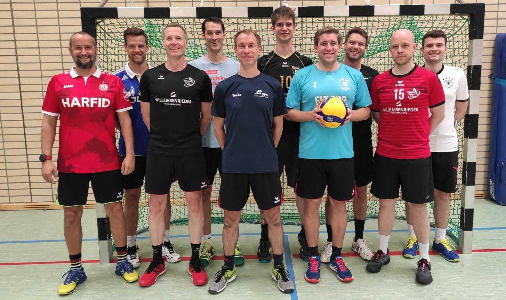 Teamfoto der 2. Herren Saison 2020/2021