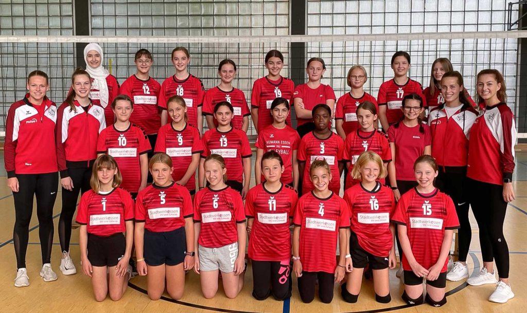 Teamfoto der U14 weiblich Saison 2020/2021